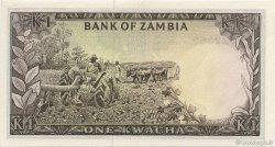 1 Kwacha ZAMBIE  1969 P.10b NEUF