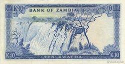 10 Kwacha ZAMBIE  1969 P.12a SUP