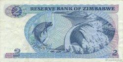 2 Dollars ZIMBABWE  1983 P.01b TTB+