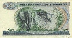 20 Dollars ZIMBABWE  1983 P.04c SUP