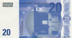 20 Euros ALLEMAGNE  2000  NEUF