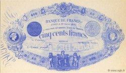 500 Francs FRANCE régionalisme et divers  1875  NEUF