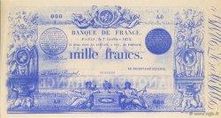 1000 Francs FRANCE régionalisme et divers  1875  NEUF