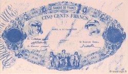 500 Francs FRANCE régionalisme et divers  1889  SUP