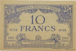 10 Francs FRANCE régionalisme et divers  1940  SUP
