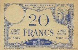 20 Francs FRANCE régionalisme et divers  1940  SUP