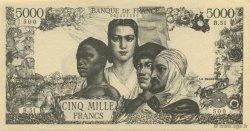 5000 Francs FRANCE régionalisme et divers  1942  SPL