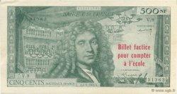 500 Nouveaux Francs Molière FRANCE régionalisme et divers  1963  pr.NEUF