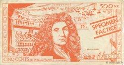 500 Francs Molière FRANCE régionalisme et divers  1965  TTB à SUP