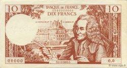 10 Francs Voltaire FRANCE régionalisme et divers  1965  SPL