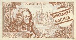 10 Francs Voltaire FRANCE régionalisme et divers  1965  pr.NEUF