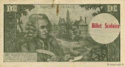 10 Francs Voltaire FRANCE régionalisme et divers  1965  TTB