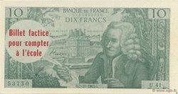 10 Francs Voltaire FRANCE régionalisme et divers  1963  pr.NEUF