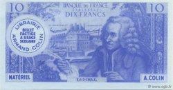 10 Francs Voltaire FRANCE régionalisme et divers  1964  SPL