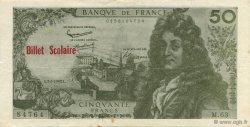 50 Francs Racine FRANCE régionalisme et divers  1963  SUP