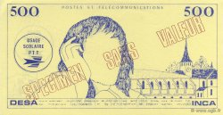 500 Francs Pascal FRANCE régionalisme et divers  1968  NEUF