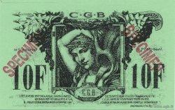 10 Francs FRANCE régionalisme et divers  1994  NEUF