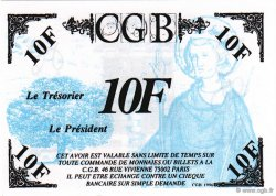 10 Francs Saint Louis FRANCE régionalisme et divers  1996  NEUF