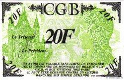 20 Francs Louis XVII FRANCE regionalism and miscellaneous  1996  UNC