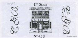 100 Francs Clovis FRANCE régionalisme et divers  1996  SUP