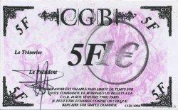 1 Euro sur 5 Francs Vercingétorix FRANCE régionalisme et divers  2001  pr.NEUF