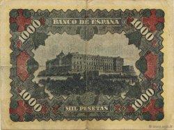 1000 Pesetas ESPAGNE  1940  TTB