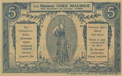 5 Francs FRANCE régionalisme et divers  1930  pr.NEUF