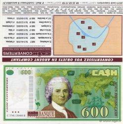 600 Francs FRANCE régionalisme et divers  1997  NEUF