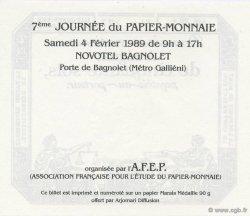 50 Sols AFEP FRANCE régionalisme et divers  1989  NEUF