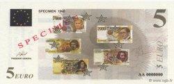 5 Euro AFEP FRANCE régionalisme et divers  1999  NEUF