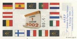 100 Euro AFEP FRANCE régionalisme et divers  1999  NEUF