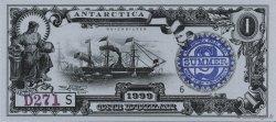 1 Dollar ANTARCTICA  1999  NEUF