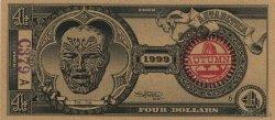 4 Dollars ANTARCTICA  1999  NEUF