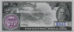 52 Dollars ANTARCTICA  1999  NEUF