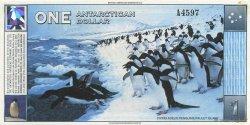 1 Dollar ANTARCTICA  1996  NEUF