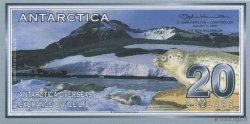20 Dollars ANTARCTICA  2001  NEUF