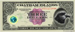3 Dollars CHATHAM ISLANDS  1999  ST