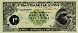 50 Dollars ILES CHATHAM  1999  NEUF