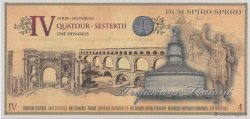 4 Sesterces EMPIRE ROMAIN  2007  NEUF