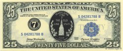 25 Dollars ÉTATS-UNIS D