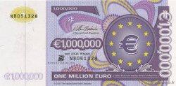 1000000 euros EUROPE  2000  NEUF