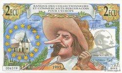 2 Ecu FRANCE régionalisme et divers  1995  pr.NEUF