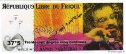 37 Degrés 5 Centimes FRANCE régionalisme et divers  1998  NEUF