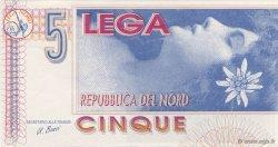 5 Lega ITALIE  1992  NEUF