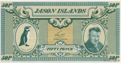50 Pence ILES JASON  2007  NEUF