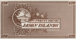 20 Pounds ILES JASON  2007  NEUF