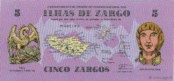 5 Zargos PORTUGAL  1980  NEUF