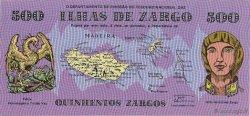 500 Zargos PORTUGAL  1980  NEUF
