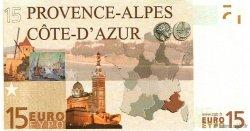15 Euro FRANCE régionalisme et divers  2008  NEUF