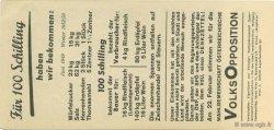 100 Schilling AUTRICHE  1953  SUP